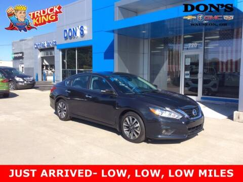 2017 Nissan Altima for sale at DON'S CHEVY, BUICK-GMC & CADILLAC in Wauseon OH
