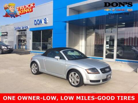 2002 Audi TT for sale at DON'S CHEVY, BUICK-GMC & CADILLAC in Wauseon OH