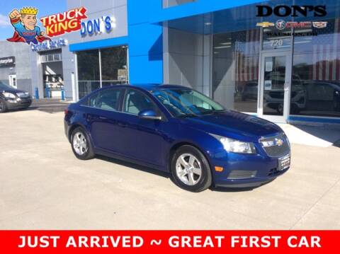 2013 Chevrolet Cruze for sale at DON'S CHEVY, BUICK-GMC & CADILLAC in Wauseon OH