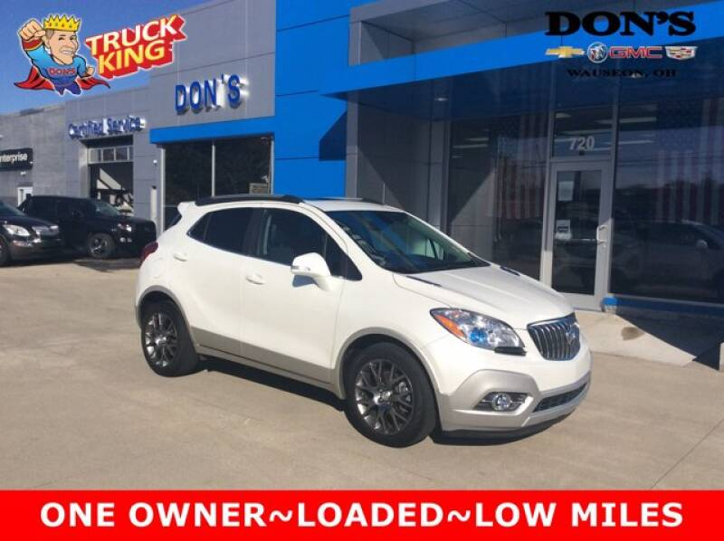 2016 Buick Encore for sale at DON'S CHEVY, BUICK-GMC & CADILLAC in Wauseon OH