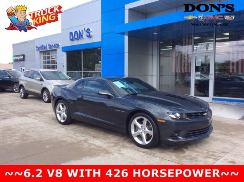 2014 Chevrolet Camaro for sale at DON'S CHEVY, BUICK-GMC & CADILLAC in Wauseon OH