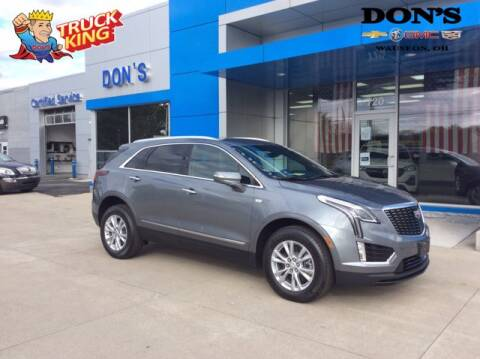 2021 Cadillac XT5 for sale at DON'S CHEVY, BUICK-GMC & CADILLAC in Wauseon OH