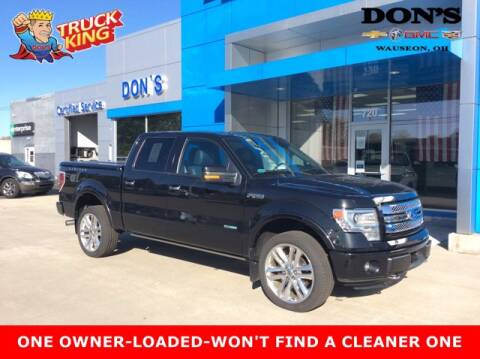 2014 Ford F-150 for sale at DON'S CHEVY, BUICK-GMC & CADILLAC in Wauseon OH