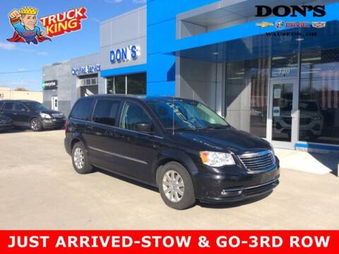 2014 Chrysler Town and Country for sale at DON'S CHEVY, BUICK-GMC & CADILLAC in Wauseon OH