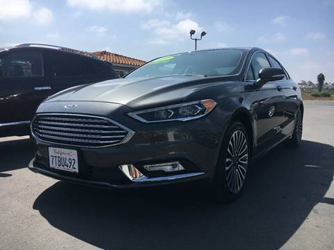 2017 Ford Fusion for sale in Chula Vista, CA