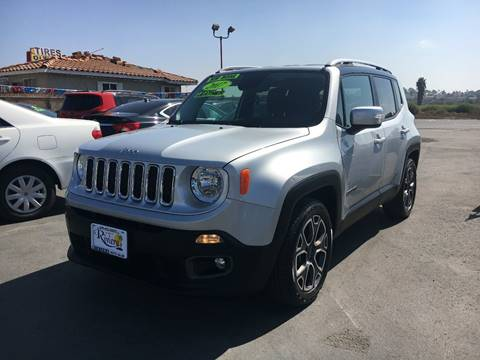 2017 Jeep Renegade for sale in Chula Vista, CA