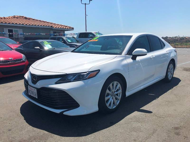 2018 Toyota Camry For Sale At Riviera Auto Sales In Chula Vista CA