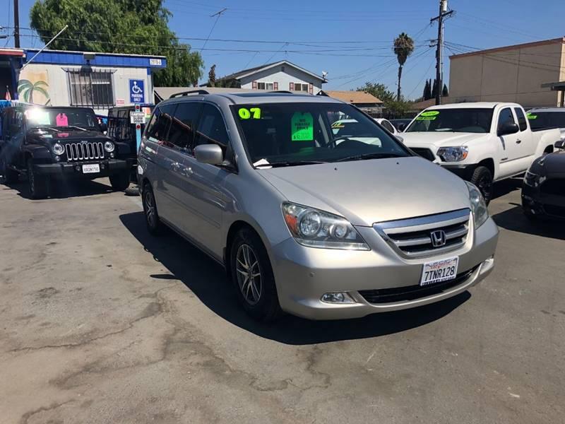 2007 Honda Odyssey For Sale At Riviera Auto Sales In Chula Vista CA