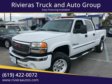 2005 GMC Sierra 2500HD for sale in Chula Vista, CA
