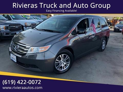 2012 Honda Odyssey For Sale >> Honda Odyssey For Sale In Chula Vista Ca Rivieras Truck