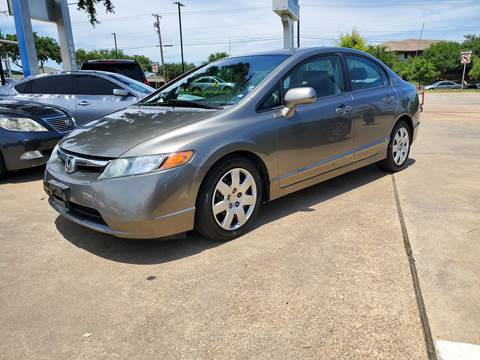 2007 Honda Civic for sale in Garland, TX