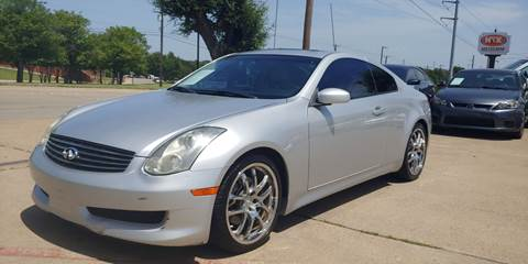 2006 Infiniti G35 for sale in Garland, TX