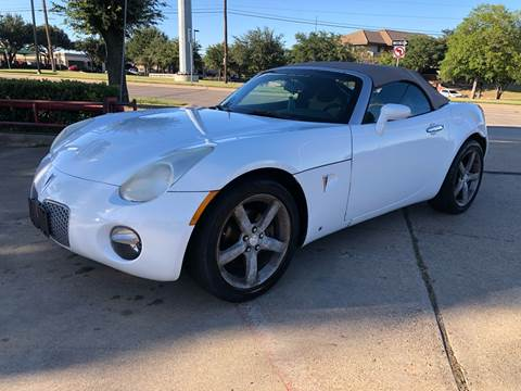 2009 Pontiac Solstice for sale in Garland, TX