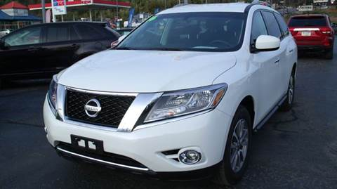 2016 Nissan Pathfinder for sale at Rinaldi Auto Sales Inc in Taylor PA
