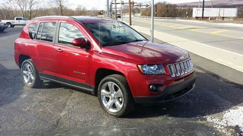 2014 Jeep Compass for sale at Rinaldi Auto Sales Inc in Taylor PA