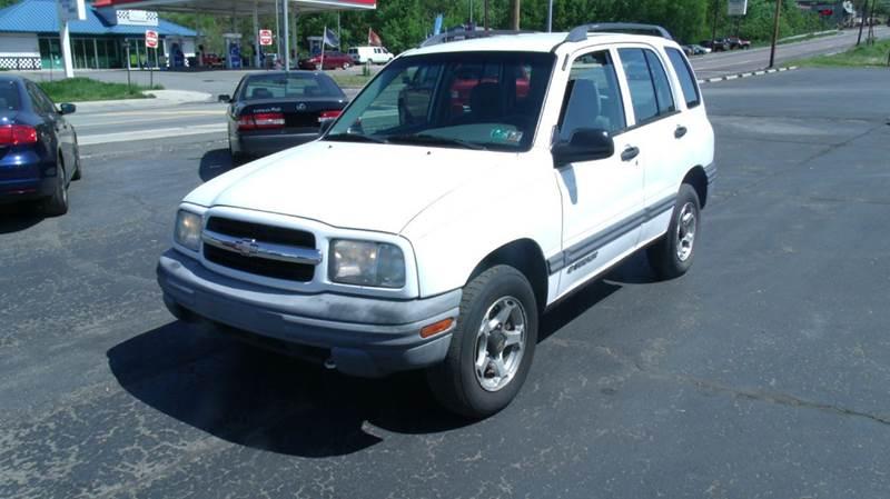 2001 Chevrolet Tracker for sale at Rinaldi Auto Sales Inc in Taylor PA