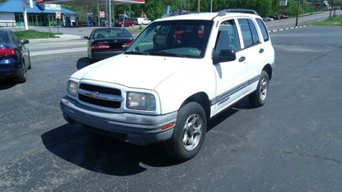 2001 Chevrolet Tracker for sale at Rinaldi Auto Sales Inc in Taylor PA