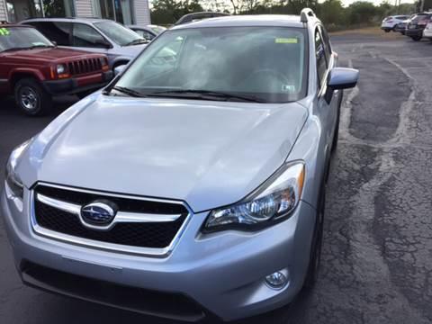 2015 Subaru XV Crosstrek for sale in Taylor, PA