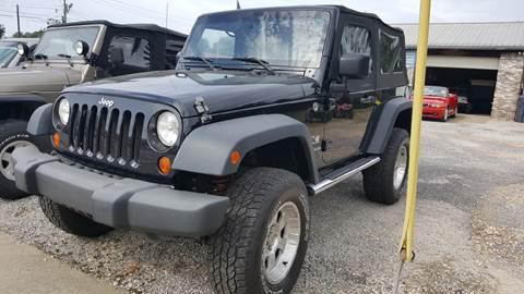 2007 Jeep Wrangler for sale at VAUGHN'S USED CARS in Guin AL