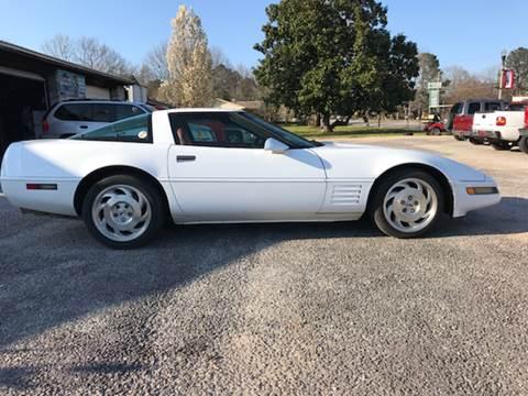 1994 Chevrolet Corvette for sale at VAUGHN'S USED CARS in Guin AL