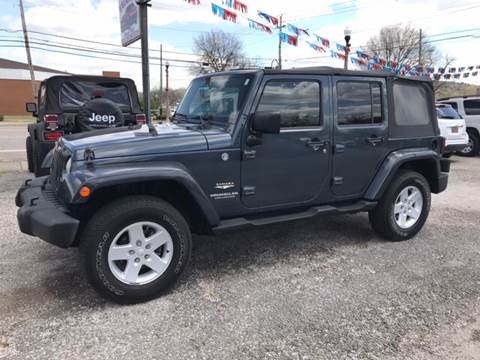 2007 Jeep Wrangler Unlimited for sale at VAUGHN'S USED CARS in Guin AL
