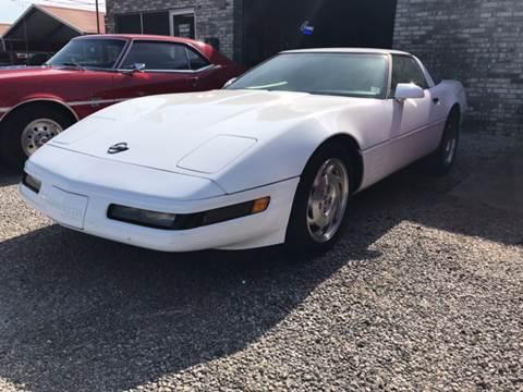 1993 Chevrolet Corvette for sale at VAUGHN'S USED CARS in Guin AL