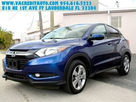 2017 Honda HR-V for sale in Fort Lauderdale, FL