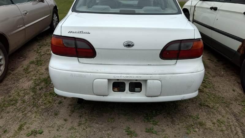 1999 Chevrolet Malibu 4dr Sedan - Manton MI