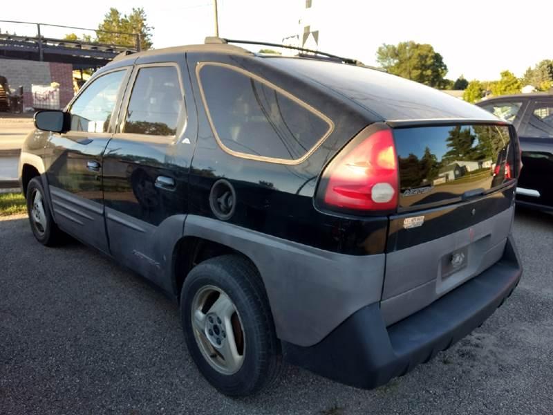 2001 Pontiac Aztek Fwd 4dr SUV - Manton MI