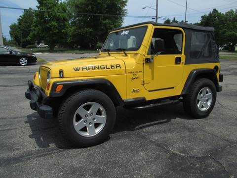 2000 Jeep Wrangler for sale in Lorain, OH