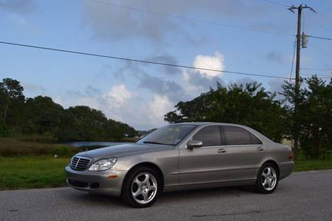 2004 Mercedes-Benz S-Class for sale at Car Bazaar in Pensacola FL