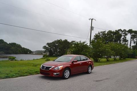 2015 Nissan Altima for sale at Car Bazaar in Pensacola FL