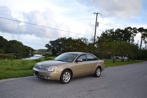 2005 Mercury Montego for sale at Car Bazaar in Pensacola FL