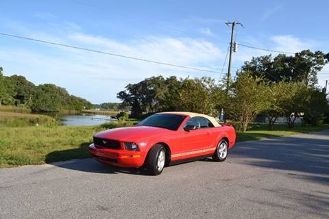2007 Ford Mustang for sale at Car Bazaar in Pensacola FL