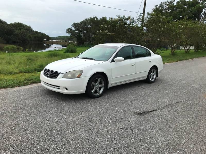 2005 Nissan Altima For Sale At Car Bazaar In Pensacola FL