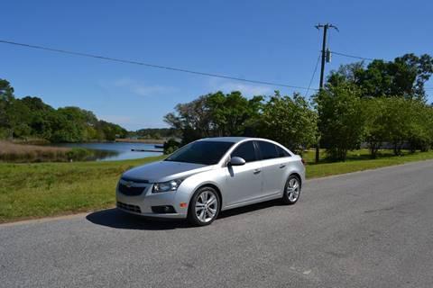2013 Chevrolet Cruze for sale at Car Bazaar in Pensacola FL