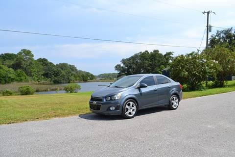 2013 Chevrolet Sonic for sale at Car Bazaar in Pensacola FL