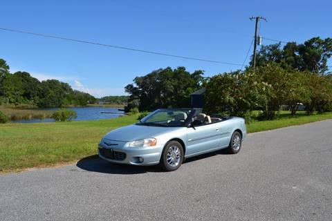 2001 Chrysler Sebring for sale at Car Bazaar in Pensacola FL