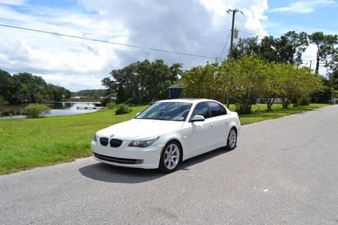 2010 BMW 5 Series for sale at Car Bazaar in Pensacola FL