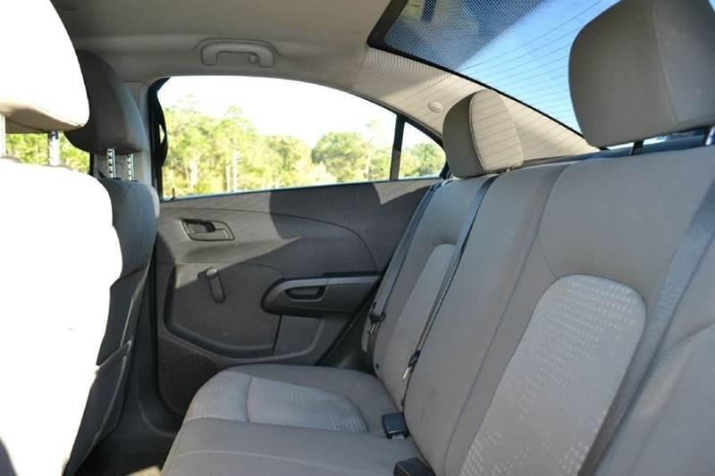 2016 Chevrolet Sonic for sale at Car Bazaar in Pensacola FL