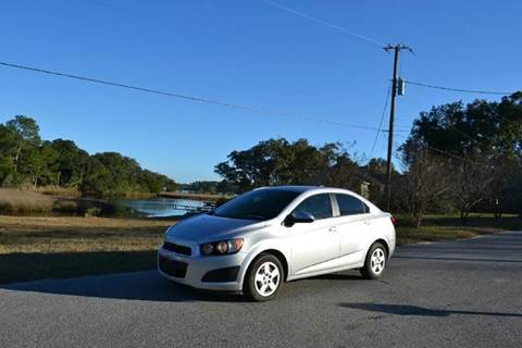 2016 Chevrolet Sonic for sale at Car Bazaar in Pensacola FL