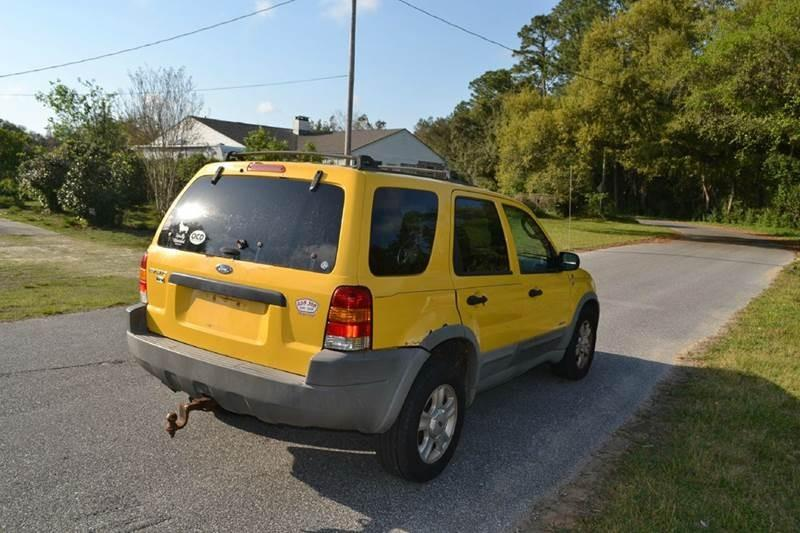 2002 Ford Escape for sale at Car Bazaar in Pensacola FL