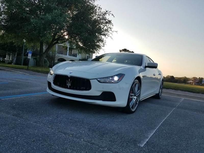 2014 Maserati Ghibli for sale at Car Bazaar in Pensacola FL