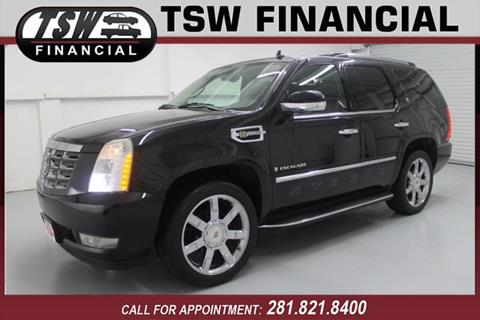2009 Cadillac Escalade Hybrid for sale in Humble/Spring, TX