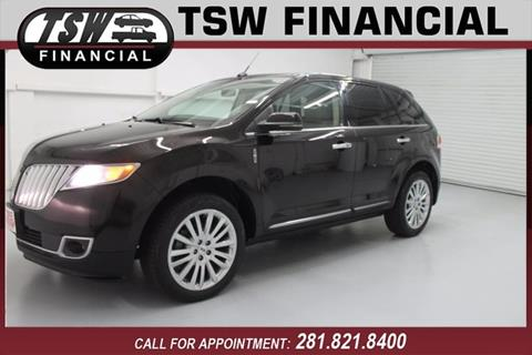 2013 Lincoln MKX for sale in Humble/Spring, TX