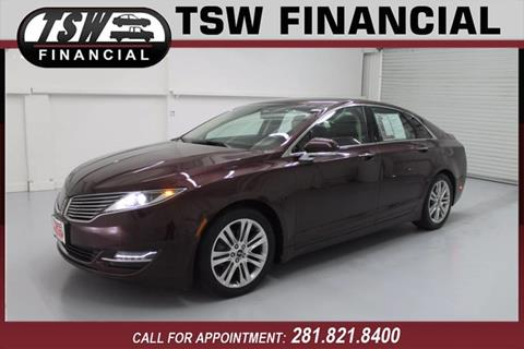 2013 Lincoln MKZ Hybrid for sale in Humble/Spring, TX