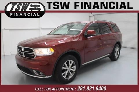 2014 Dodge Durango for sale in Humble/Spring, TX