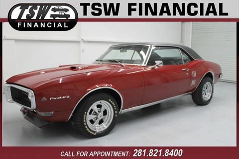 1968 Pontiac Firebird for sale in Humble/Spring, TX