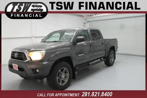 Toyota Pickup Trucks financing For Sale Humble/Spring TSW