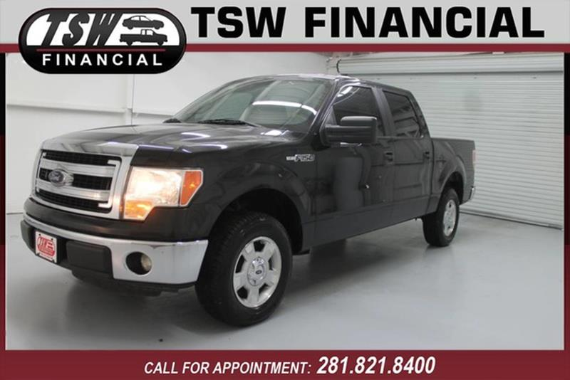 2014 Ford F-150 4x2 XLT 4dr SuperCrew Styleside 5 5 ft  SB